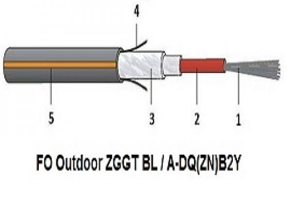 فیبرنوری Outdoor ZGGT BL/A-DQ(ZN)B2Y